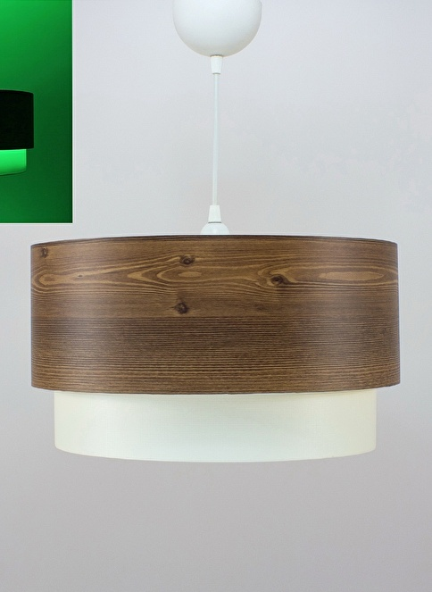 Crea Lighting Fosforix  Sarkıt 40 cm/Wood/Rustik Renkli